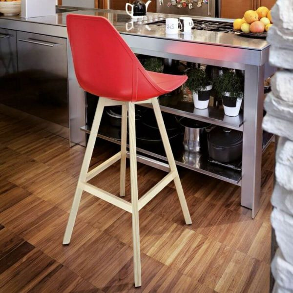 Alma Design X-Barkruk Wood