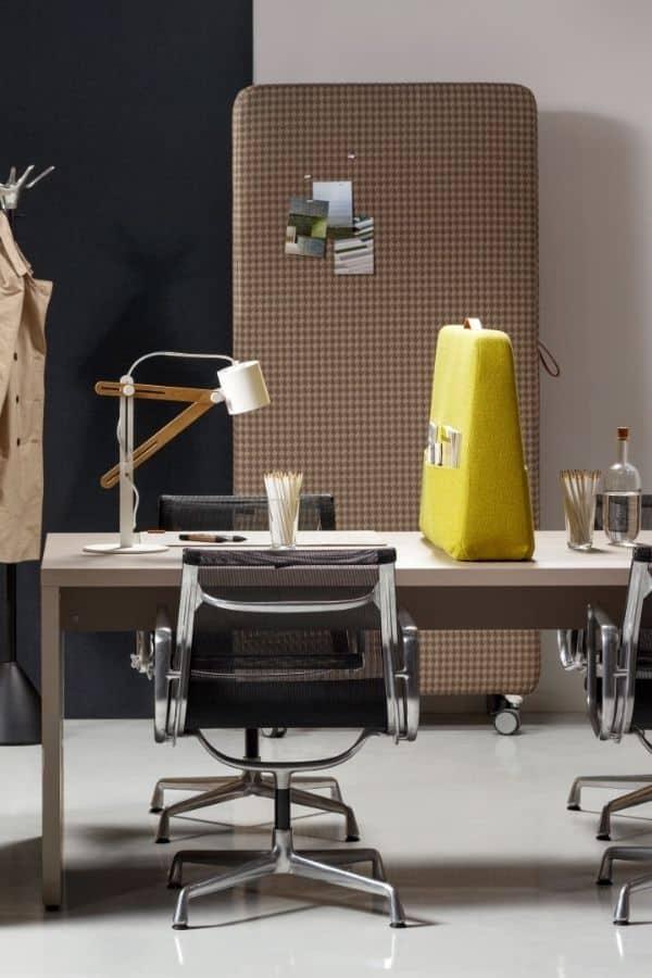 Trunk Desk Mobiel Akoestisch Bureauscherm