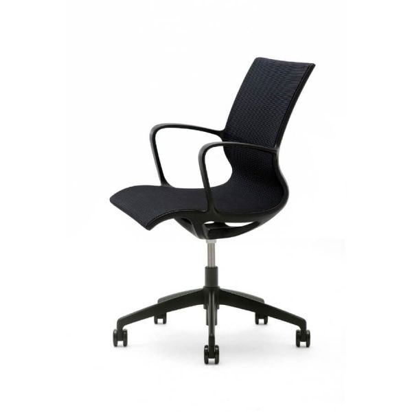Gispen Turn Black Bureaustoel