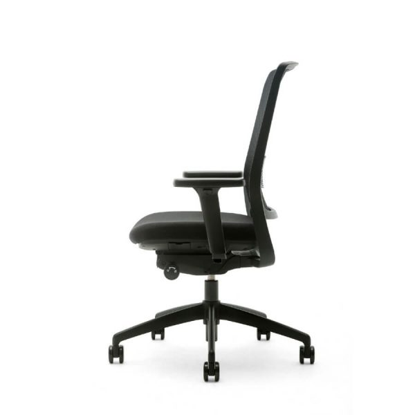 Gispen Zinn Smart Zwart Bureaustoel