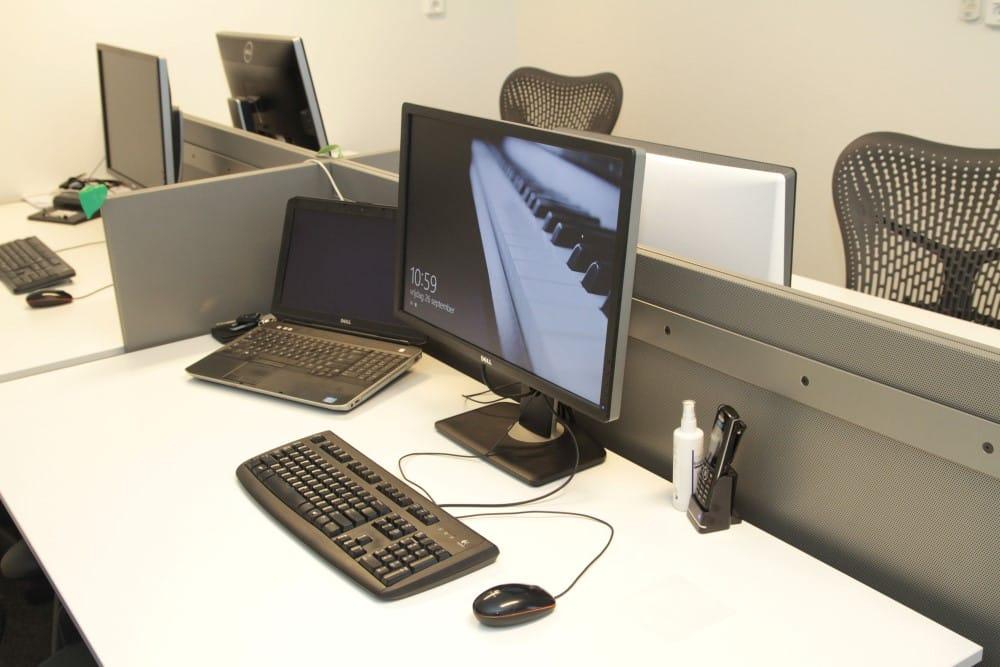 bureau inrichting clean desk