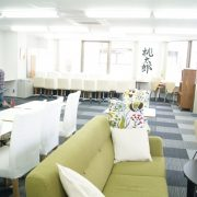 lounge inrichting voor op kantoor