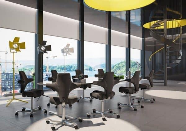 HÅG Capisco 8106 Bureaustoelen Kantoorinrichting
