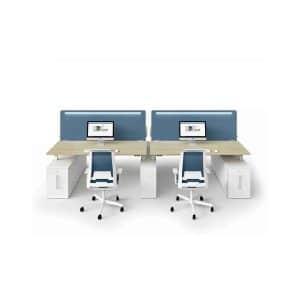 Bralco Akoestische bureauschermen