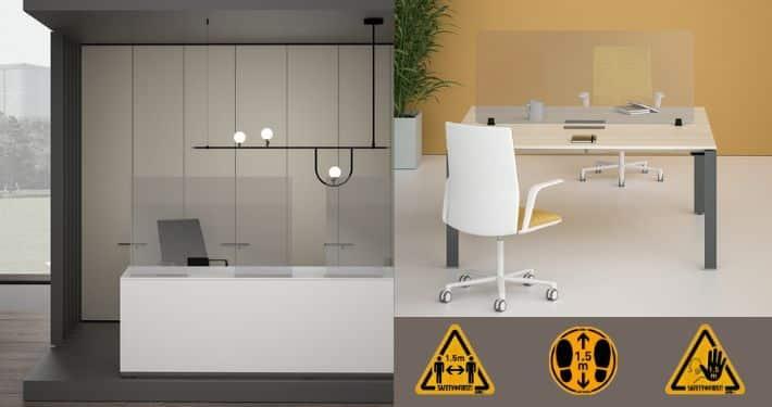 Corona-proof kantoor