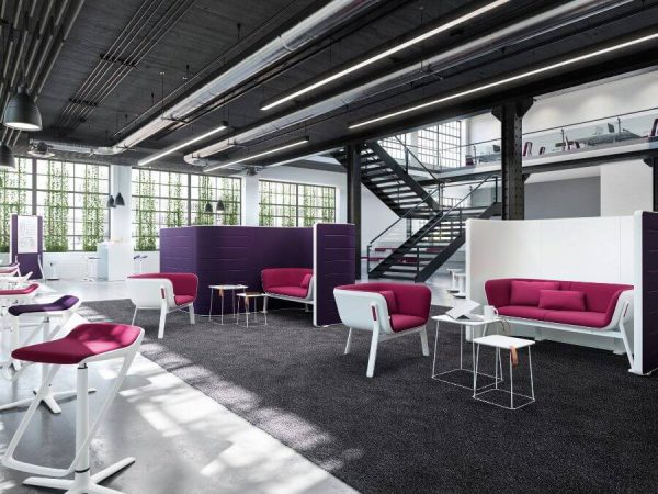 Interstuhl Hub Loungemeubilair